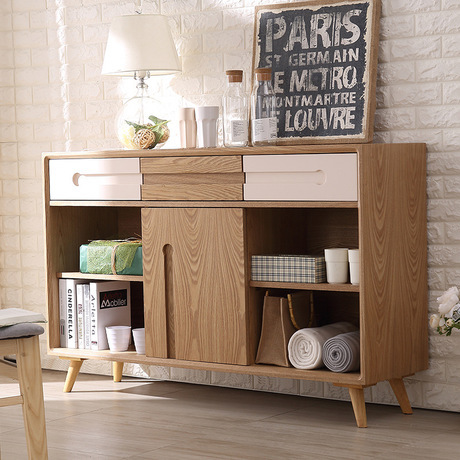 Kitchen Cabinets Kitchen Furniture Home Furniture Solid Wood Side Cabinet  Door Base Cabinets Wholesale 140*40*91cm European Styl In Kitchen Cabinets  From ...