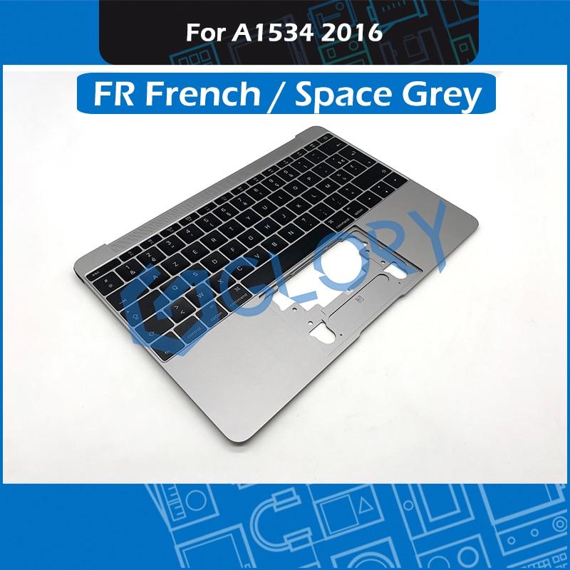 10 pcs/Lot espace gris A1534 Topcase Top étui pour macbook Retina 12