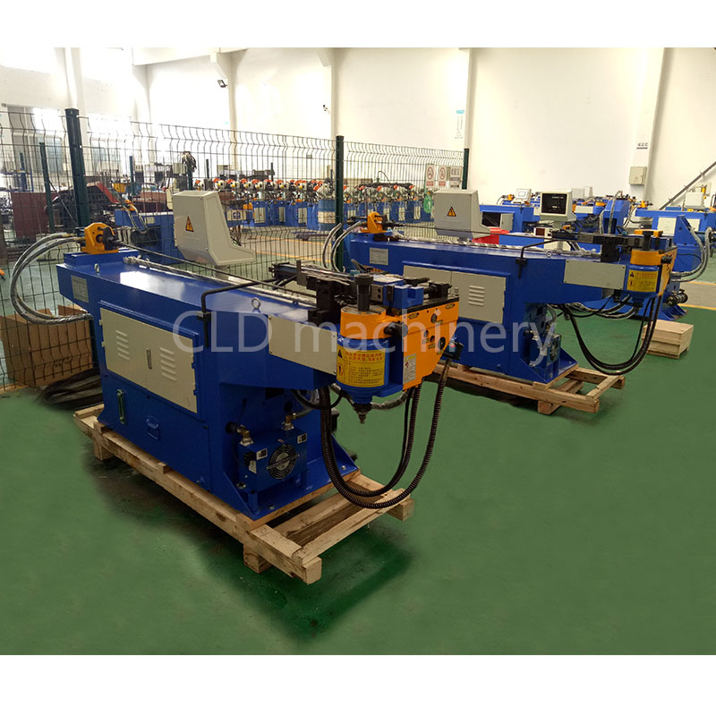DW38NC pipe bender hydralic bending machine square pipe bending machine with high quality and low price in Bending Machinery from Tools