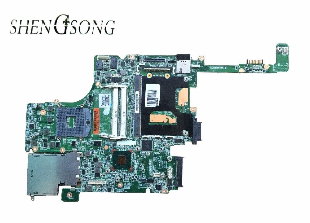 690643-001 690643-501 Материнская плата для hp elitebook 8570 Вт Тетрадь PC Системы доска/Главная плата HD4000 J8A с слот графика