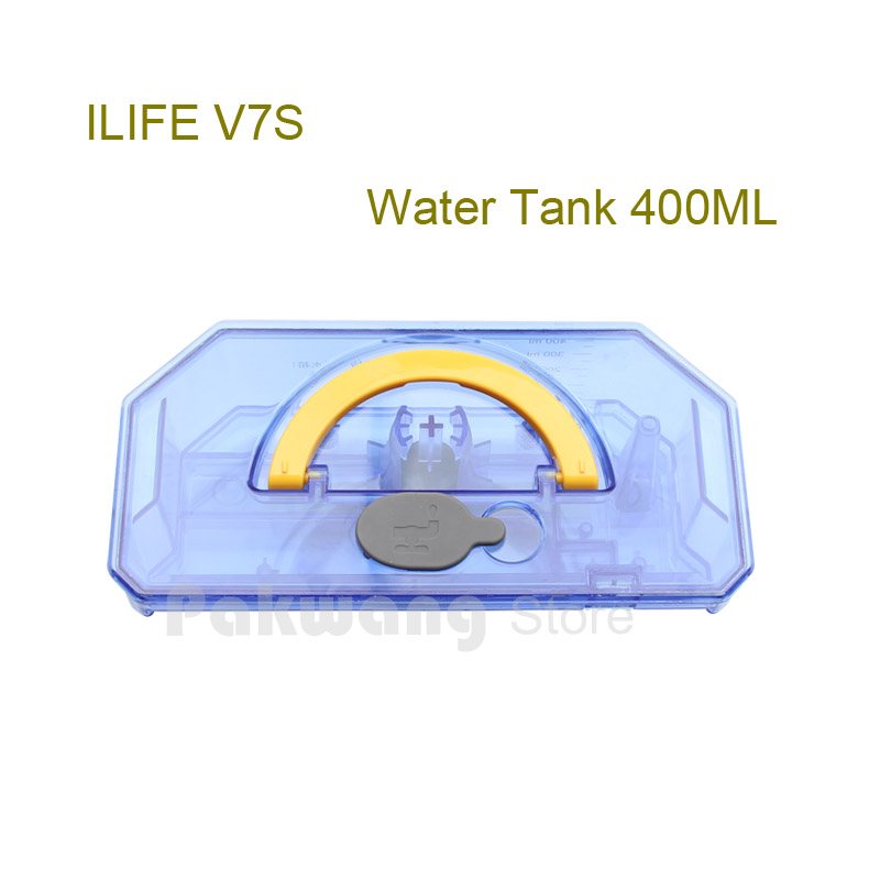 Original ILIFE V7S Large water tank 1 pc, Robot Vacuum Cleaner parts from the factory. original ilife v7s pro water tank 1 pc supply from the robot vacuum cleaner factory