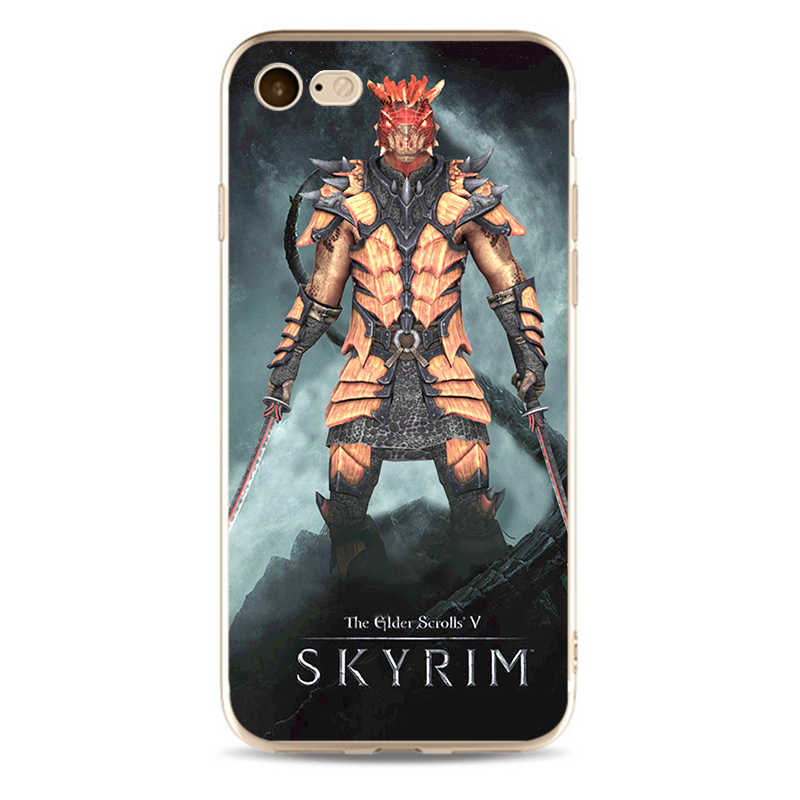 Skyrim האחים כיסוי באיכות גבוהה רך סיליקון 2018 TPU מקרה טלפון עבור iPhone 5 5C 5S SE X 6 6S 6 בתוספת 7 7 בתוספת 8 8 בתוספת