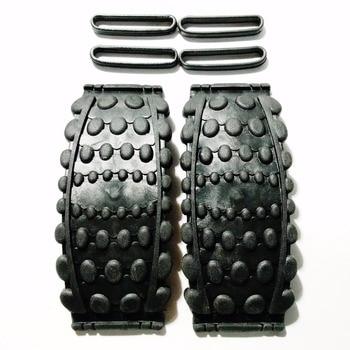 Hoge kwaliteit! kangoeroe Springen Schoenen stuiteren schoenen accessoires 2 pcs Bounce panel + 4 stuks Rubber band, Gratis verzending