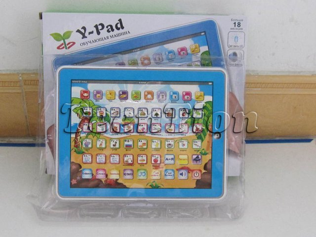 36 psc/lot Russian language Y-pad ypad tablet table computer touch screen kids learning machine educational gift free shipping