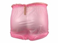 Haian ABDL Pull On Locking Plastic Pants Color Glass Clear # P016 5