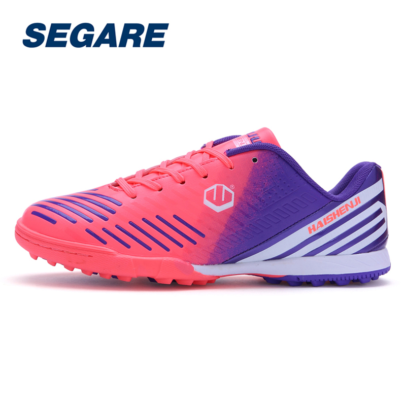Boy Kids Men Cleats Boots Turf Football Soccer Shoes Artificial turf Outdoor Sneakers Trainers Adults Sport ShoesSE091206