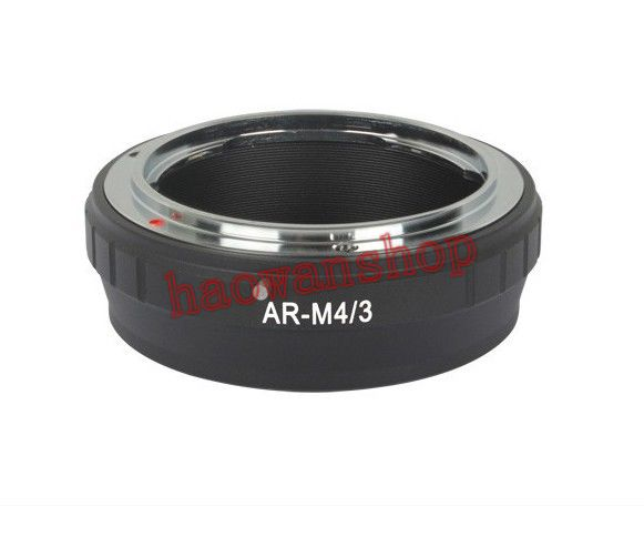AR-M43 konica AR Lens to Micro M 4/3 M43 Adapter ring for G1 G3 GH1 GF1 GF3 E-P1 E-PL3 camera image