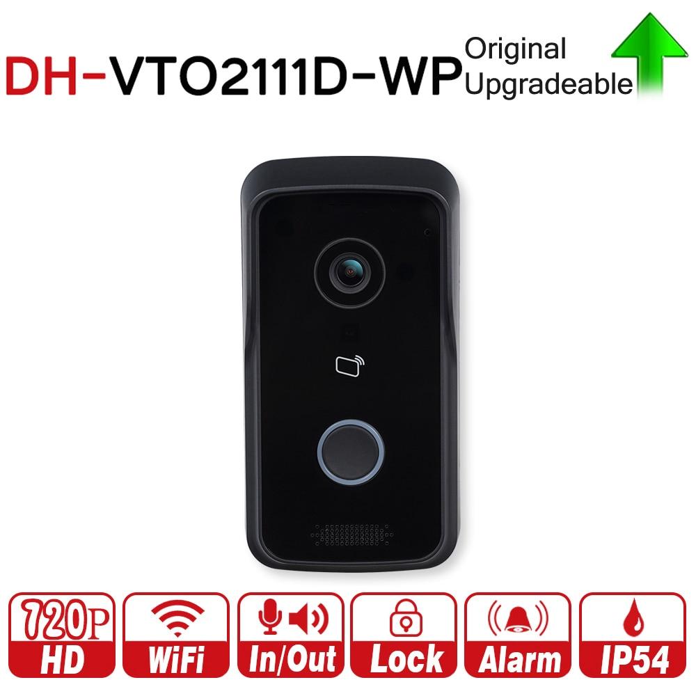 DH VTO2111D-WP DC12V POE WIFI IP Metal Villa Outdoor Station Intercom Video Door Phone DH P2P Metal Villa Outdoor Station