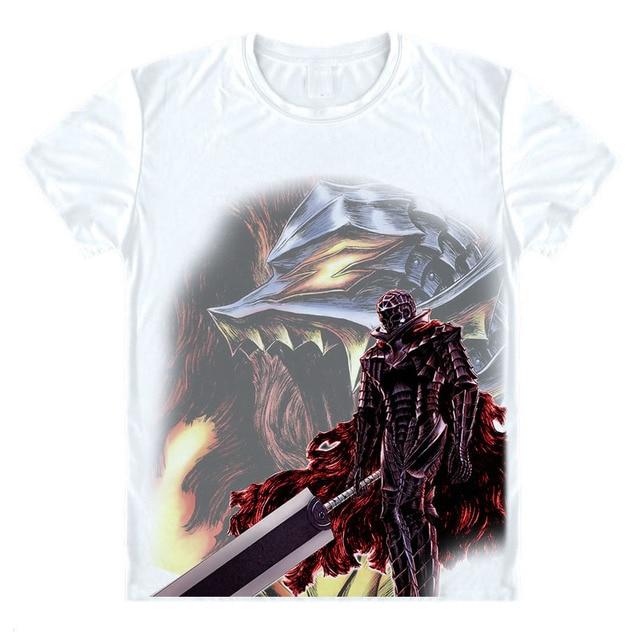 Anime Berserk T Shirt Viking Berserkers Shirt Manga Berserk Monster Wolf Norse Mythology Skull Short Tee Cool Men Women Tshirt T Shirts Aliexpress