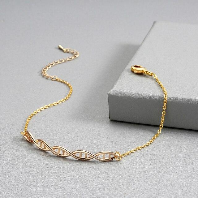 Double Helix DNA Molecule Bracelet 6