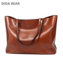 Damskie skórzana tote torba torebki damskie torebki damskie projektant duża pojemność czarny rozrywka torby na ramię mody panie torebki Bolsas