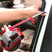 цена на Car Accessories Door Rubber Seal Strips Sticker For Hyundai IX35 Solaris Accent I30 Tucson Elantra Santa Fe Getz I20 Sonata I40
