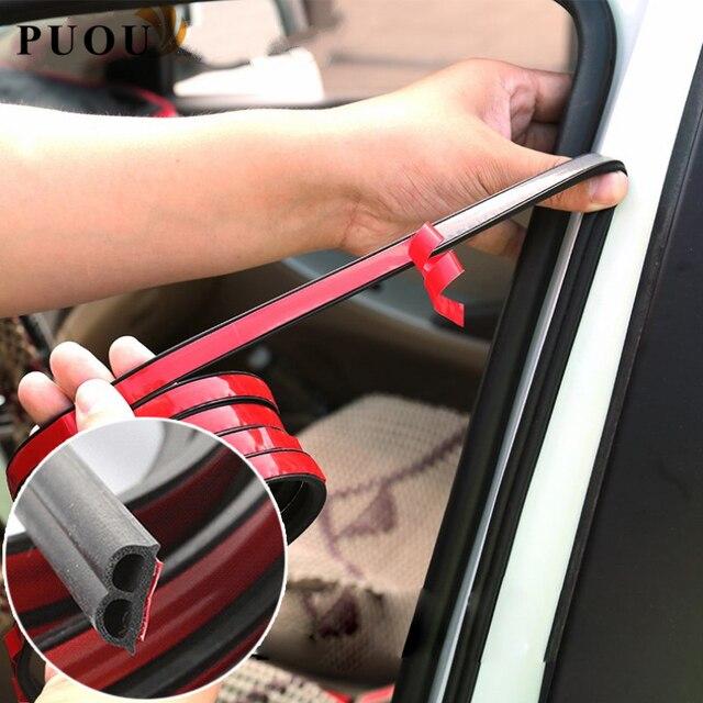 Autocollants de joints en caoutchouc de porte | Accessoires de voiture pour Lada granta vesta priora kalina niva largus vaz samara, 2106 2108 2109 2110