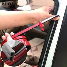 Car Accessories Door Rubber Seal Strips Sticker For Peugeot 307 308 407 206 207 3008 406 208 2008 508 408 306 301 106 107 607 стоимость
