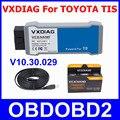 Для TOYOTA TIS VXDIAG VCX NANO OBD2 Диагностический Инструмент ЭКЮ Программист USB Сканер Для TIS Techstream V10.30.029 Поддерживает SAE J2534
