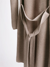 100% cashmere thick knit cardigan sweater coat