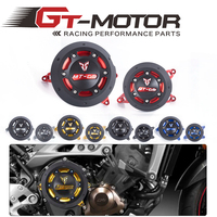 GT Motor Free Shipping Engine Guard Protector Engine Guard Case Slider Cover Protector Set For YAMAHA MT 09 MT09 tracer 14 18