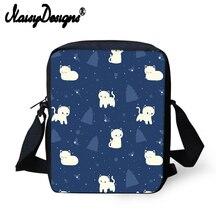 Бесшумная дизайнерская мини-сумка-мессенджер с рисунком кота для детского сада, маленькая сумка-мессенджер с ладаном, женская сумка через плечо для девочек, Mochila
