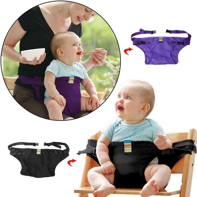 Baby Carrier Foldable Portable Child Seat Seat Belt Portable Child Seat Baby Dining Belt Solid Color Safety Backpack And Carrier