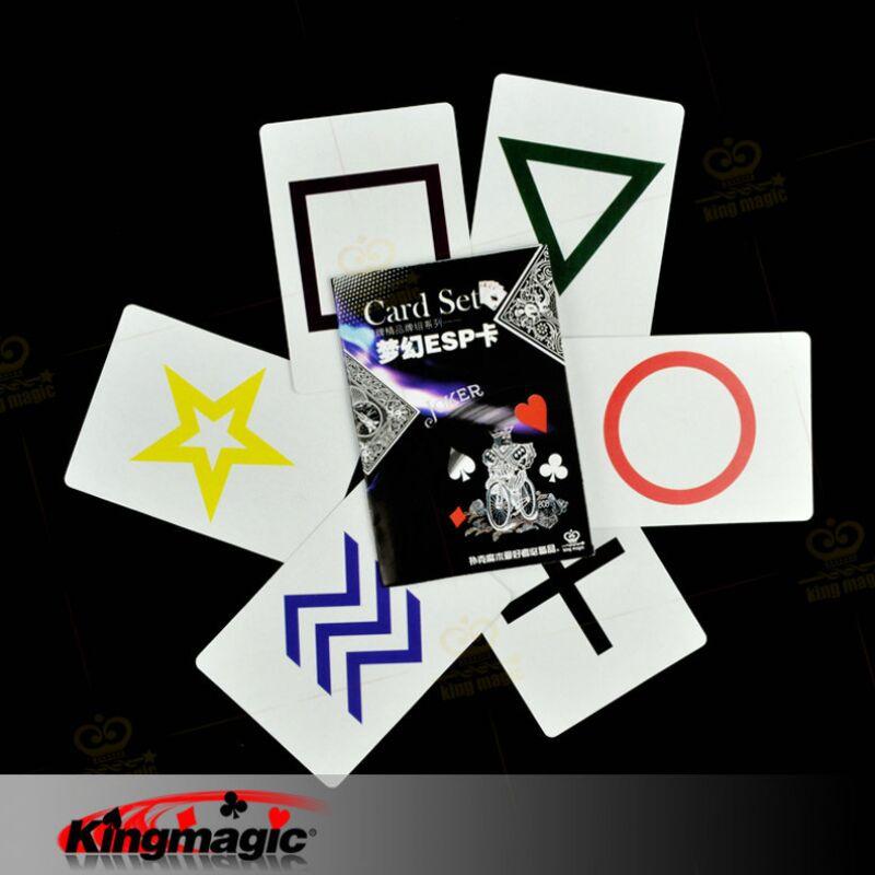 İsti Satış Fancy ESP klassik kartlar qrup kartı sehrli - Klassik oyuncaqlar - Fotoqrafiya 2