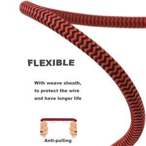 """Image 4 - Hifi акустический кабель 1/8 """"мини джек 3,5 мм до Dual RCA автомобилей AUX PC усилитель наушников 3,5 до 2 RCA аудио кабель 1 м 2 м 3 м 5 м 10 м"""