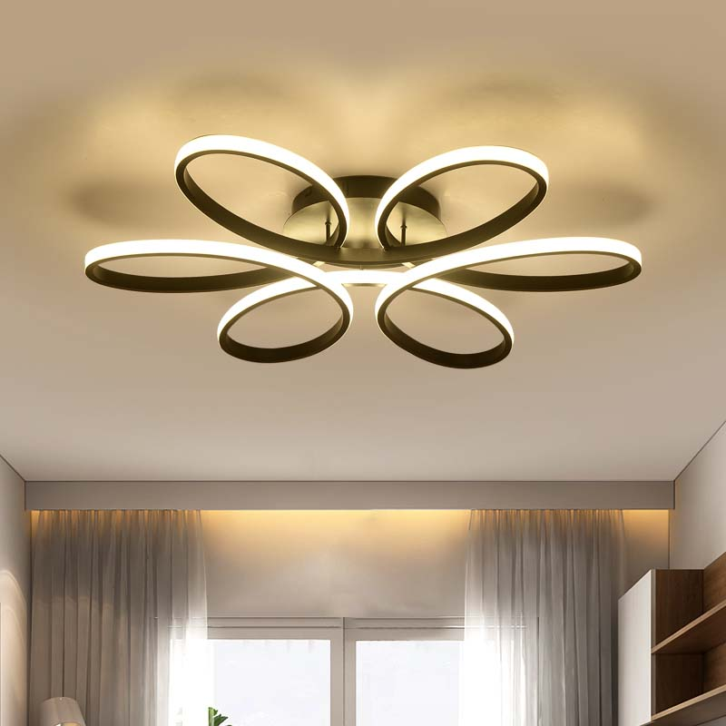 modern led ceiling lights for living room bedroom modern lamp ceiling lamp led attenuation home lighting luminaires AC110V-220V