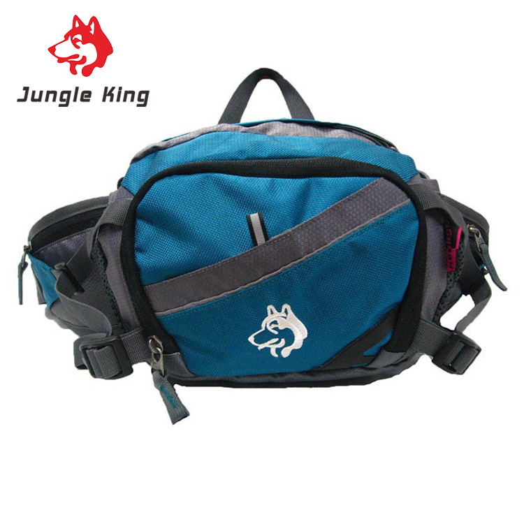 Jungle King Qutdoor mountaineering bag 8L pockets multi functional waterproof cycling running small bag mobile wallet inclined in Running Bags from Sports Entertainment