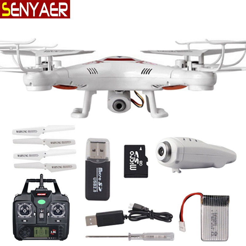 Flying Camera BAYANG X5C RC Helicopter 2.4G 4CH 6-Axis Drone With HD Camera X5C-1 Quadcopter Large capacity battery Dron amazing mini flying egg drone with 4ch 6 axis gyro rc dron helicopter toys for children vs syma x5c quadcopter