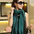 Moda LING la borla de seda 100% chales mujer, 180 * 70 cm tamaño largo de dos pisos Sari tippett, Organza + oro bufanda hilo de mujeres, 9101