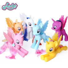 My little horses Original Toys Friendship is Magic Rainbow  for Birthday toys girls PVC pony figurineCollection Model Dolls