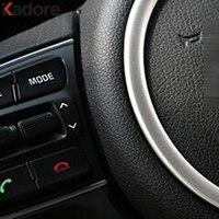 Car Steering Wheel Emblem Decorative Circle Ring Modified 3D Sticker For Kia Sportage 2016 2017 4TH