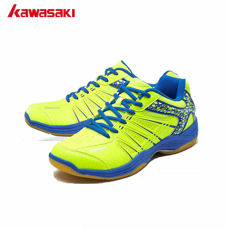 Kawasaki Brand Mens Badminton Shoes Professional Rackets Sports Shoes for Women Breathable Indoor Court Sneakers K-061 062 063