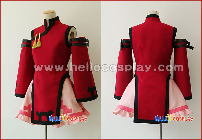 Jam Kuradoberi Cosplay Costume From Guilty Gear X H008