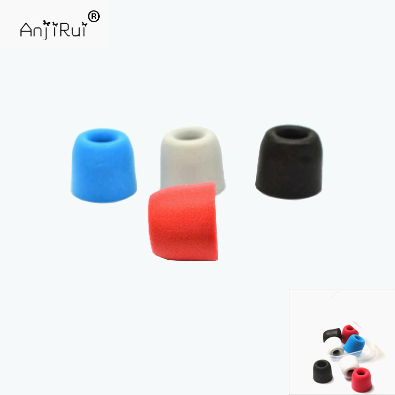 2 Pcs Anjirui T200 4.5mm Caliber Ear Pads Memory Foam Eartips T200 Tips Ear Pads For In-ear Earphone Tips Sponge Ear Cotton Consumer Electronics