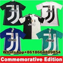 b78ac19724e 18 19 Commemorative Edition Juventus RONALDO Soccer jersey 2018 2019 Buffon  MARCHISIO DYBALA HIGUAIN MANDZUKIC Football