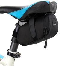 Bolsa de Nylon para bicicleta, Bolsa de almacenamiento impermeable para SILLÍN, asiento trasero para bicicleta, Bolsa de sillín, accesorios para bicicleta