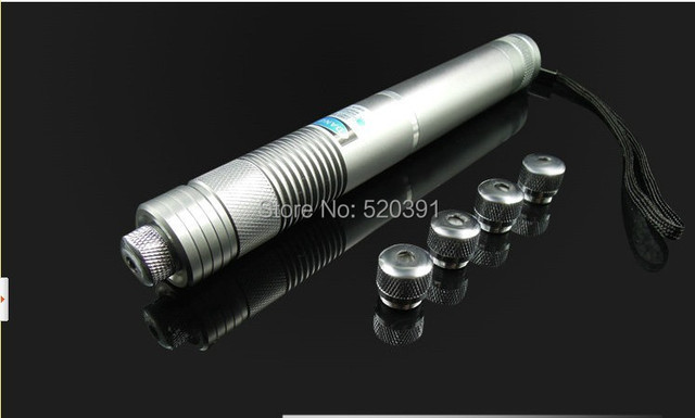 high power blue laser pointers 20000mw 20w 450nm burning match/paper/dry wood/candle/cigarettes+5 caps+Glasses+charger+gift box