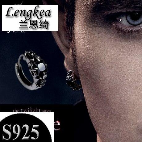 3aff4e825 Women earrings men earrings 925 silver vintage stud earring thai silver  fashion women jewelry 2018 men