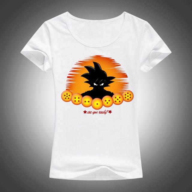 Dragon Ball Z Goku Summer Vogue Casual Women's T shirt