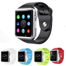 Bestseller A1S Smart Uhr Android Smartwatch Bluetooth Sportuhr Mit Passometer Kamera Unterstützung TF/SIM Uhr PK GT08 GD19
