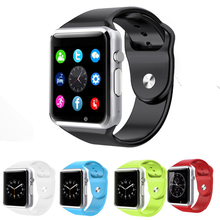Best Seller A1S Smart Watch Android Smartwatch Bluetooth Sport Watch With Passometer Camera Support TF/SIM Clock PK GT08 GD19