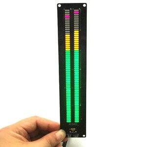 Image 3 - CLAITE Kit de Medidor de VU de espectro musical Binaural con carcasa, AS60, doble canal, 60 segmentos, 1 ud.