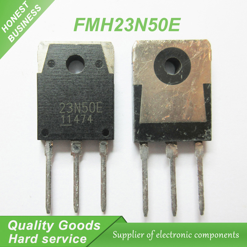 20PCS FMH23N50E 23N50 23N50E 500V 23A TO-3P inverter welding machine field effect transistor new original
