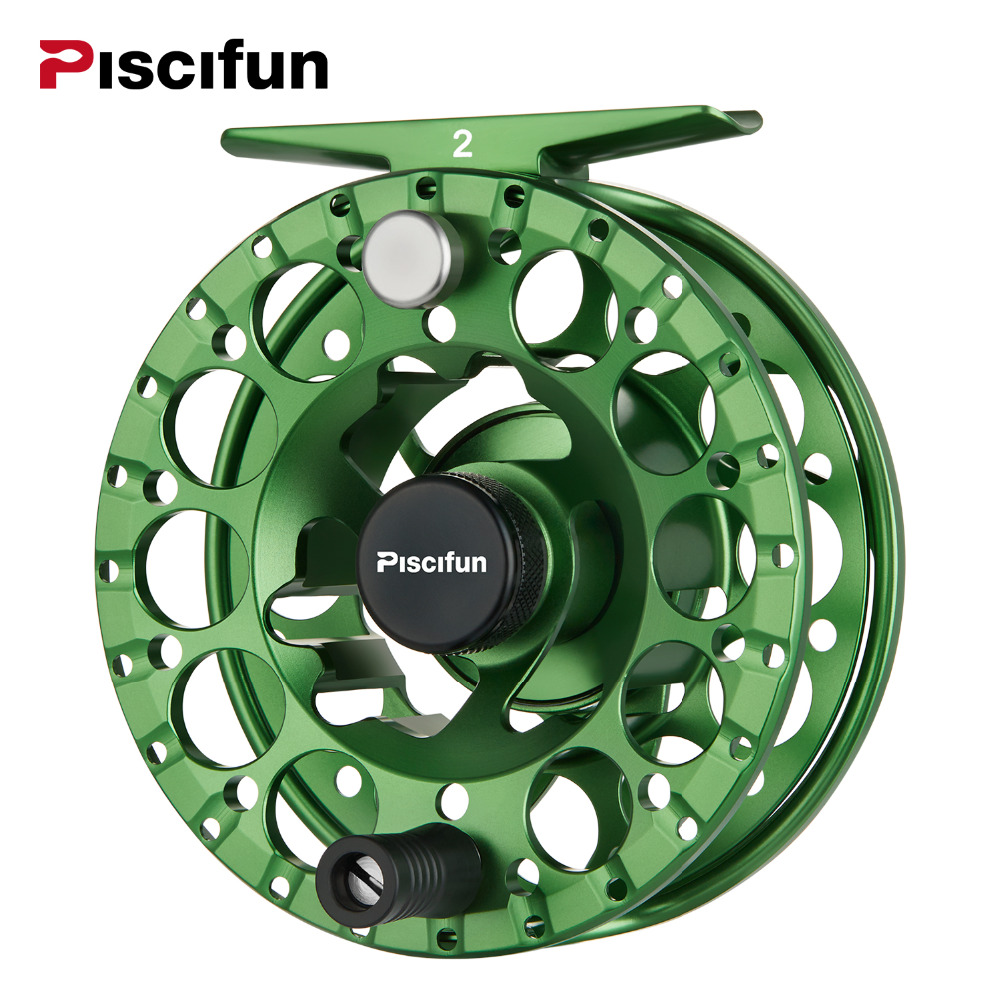 цена на Piscifun Sword II Fly fishing Reel 3/4 5/6 7/8 All sealed Drag CNC Machined Aluminium Alloy Right Left Hand fly Fishing coil