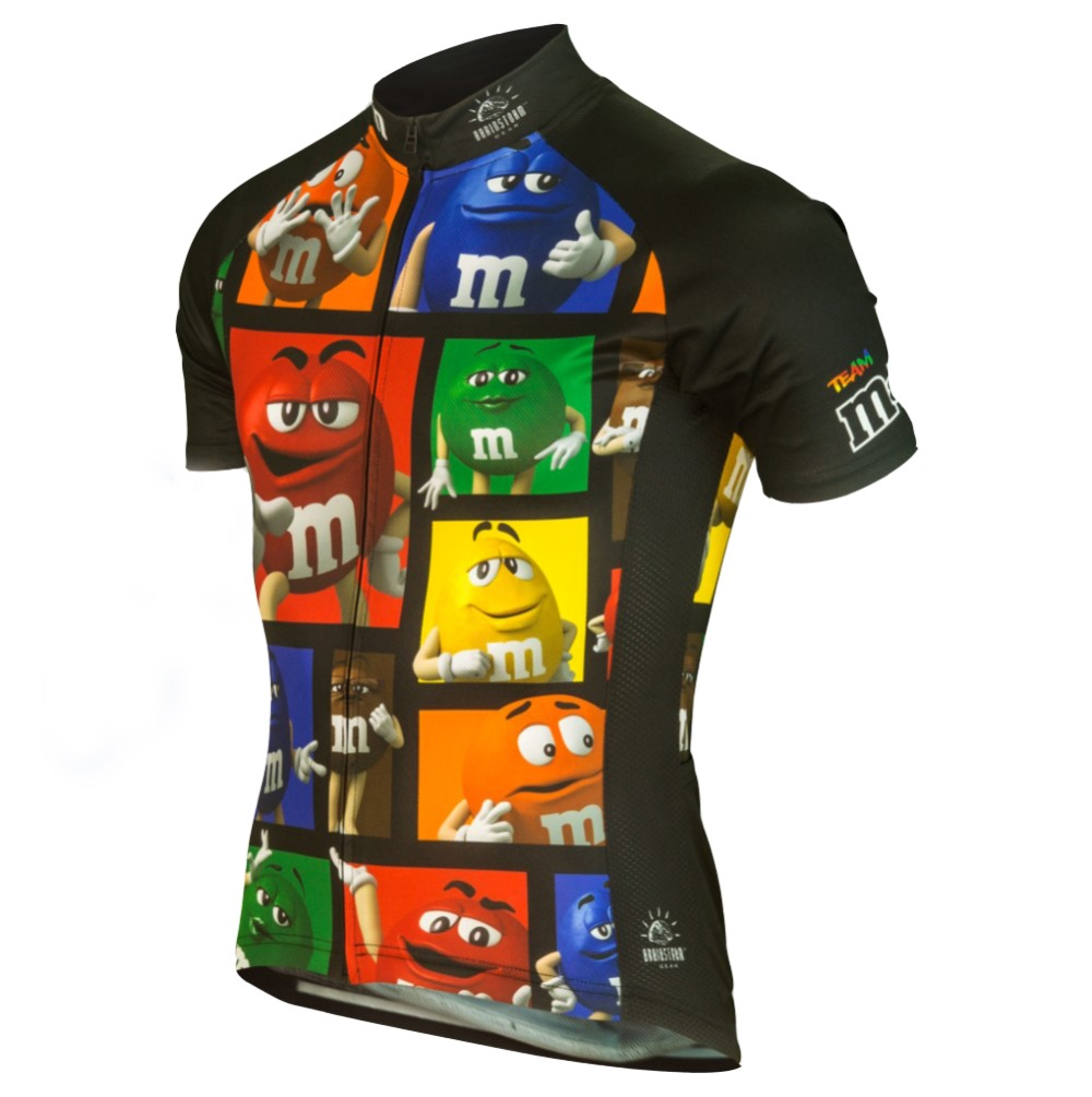 2016 new men s Ropa Ciclismo cartoon cycling jersey MMDS M cute ride shirt  unique cycling clothing cool apparel novelty garments-in Cycling Jerseys  from ... a30becc6a