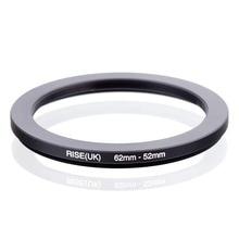 RISE (UK) 62mm 52mm 62 52mm 62 zu 52 Step down Ring Filter Adapter schwarz