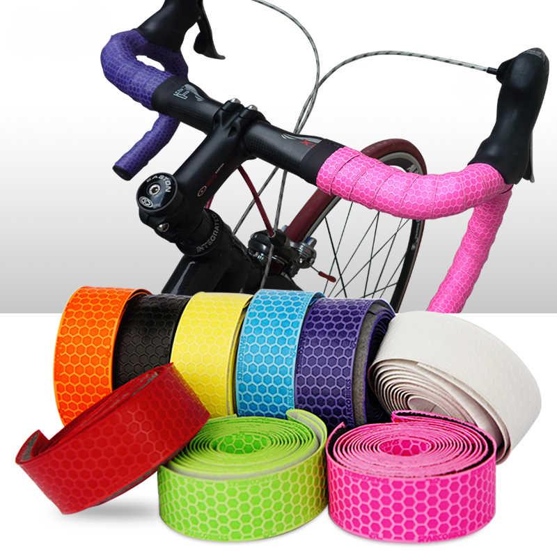 1pair soft foam sponge bike cycle bicycle handle handlebar bar grips In MF