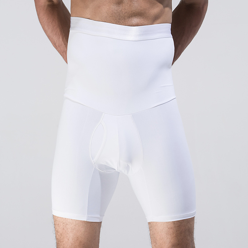 Men High Waist Tummy Control Shorts Shapewear