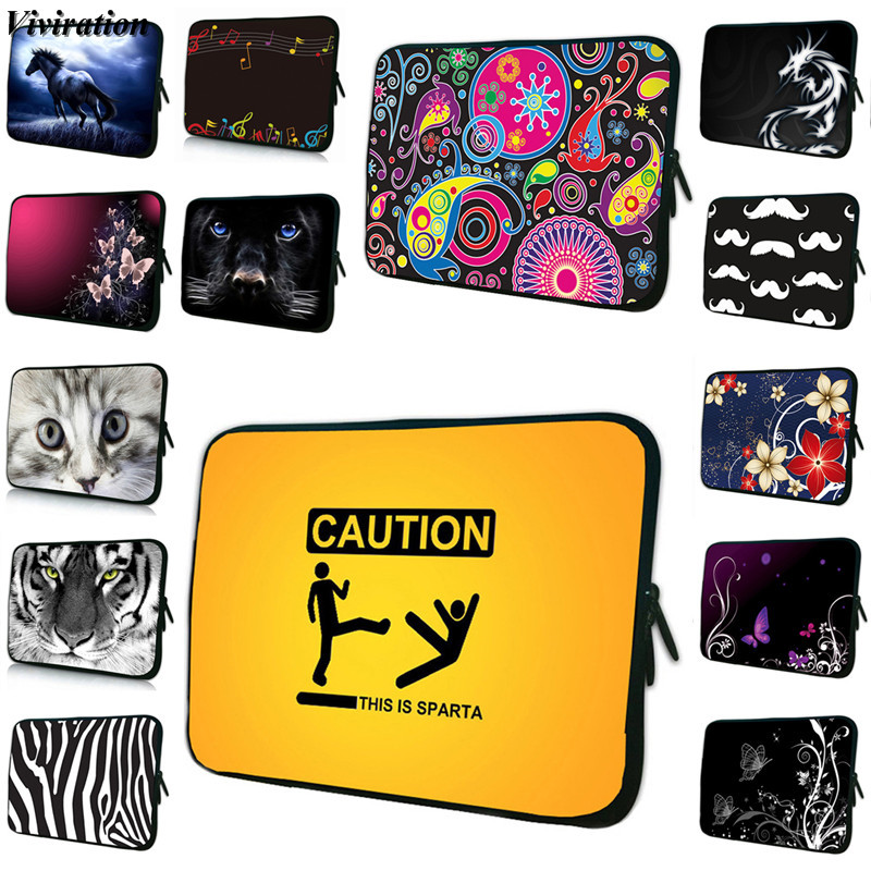 Viviration Universal 15 Inch Laptop Bag For Dell Lenovo Notebook 14 Inch Case Soft Computer Bag 10 12 13 17 7 Inch Tablet Cover