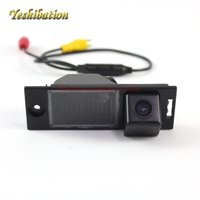 Car Rear Camera For Hyundai ix35 2015 2016 2017 Reversing Park Camera High Definition License Plate Light DIY
